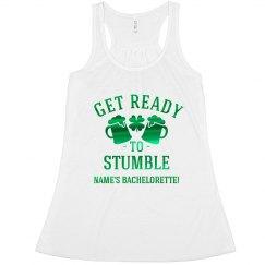 St. Patrick's Stumble Bachelorette