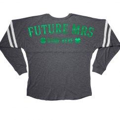 Future Mrs Metallic Shamrocks