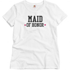 Pink Maid Of Honor
