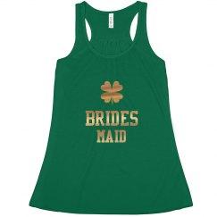 Irish Brides Maid Gold Tank Top