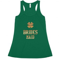 Irish Brides Maid Gold Tank Top