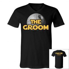 Groom Death Star Tee