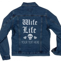Trendy Wife Life Skull & Diamonds