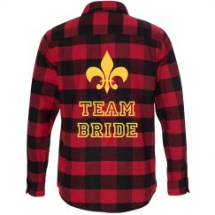 Team Bride Flannel Shirt