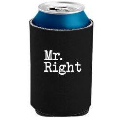 Mr. Right Koozie