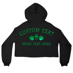 Custom Metallic Irish Bachelorette
