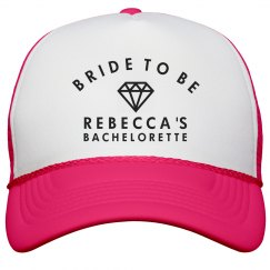 Bride To Be Neon Hat