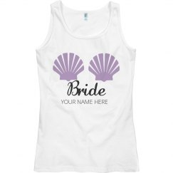 Mermaid Shells Bride Tank