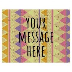 Custom Message Bridesmaid Puzzle