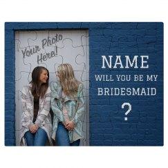 Custom Photo Bridesmaid Proposal