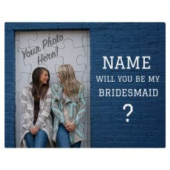 Custom Photo Bridesmaid Proposal
