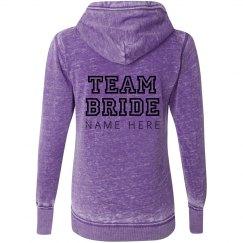 Team Bride Insert Name