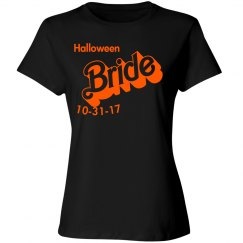 Halloween Bride Customization Date T-shirt