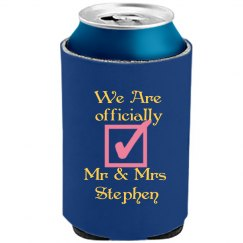 Newly Wed Can Koozie