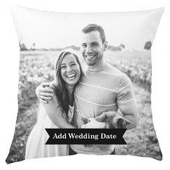 Custom Printed Wedding Photo