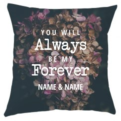 Custom Name Always Forever Marriage