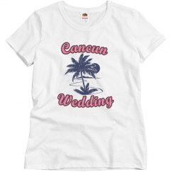 Cancun Wedding Tee
