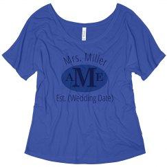 Mrs. Established Initials