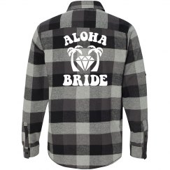 Aloha Bride Flannel Shirt