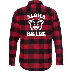 Aloha Bride Flannel Shirt