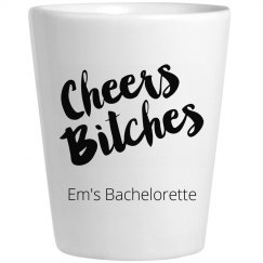 Cheers Bachelorette Shots