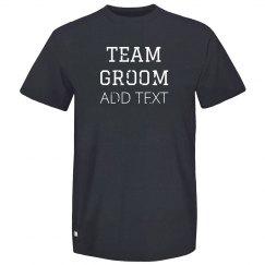 Custom Bachelor Team Groom