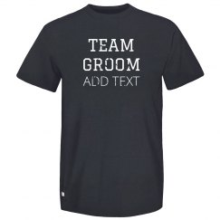 Custom Bachelor Team Groom