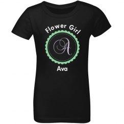 Flower Girl Initial