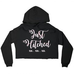 Just Hitched Crop Sweatshirt