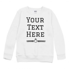 Personalized Text Ring Sweater