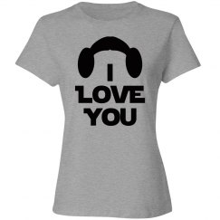 I Love You, Wife or Mrs. Couples Shirt, missy fit tee