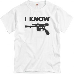 I Know, Hubby or Mr. Couples Shirt