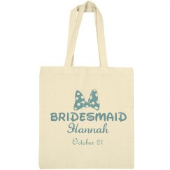 Bridesmaid Insert Name