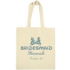 Bridesmaid Insert Name