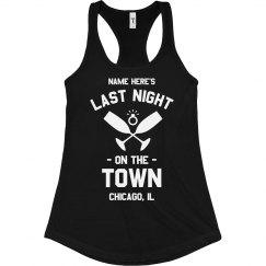 Night On The Town Bachelorette Tank
