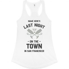 Night On The San Francisco Town