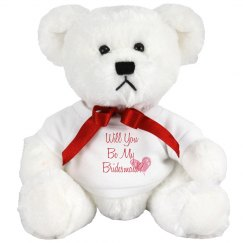 Bridesmaid Teddy Bear