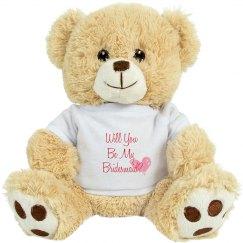 Bridesmaid Teddy Bear