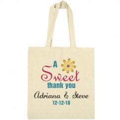 A Sweet Thank you Welcome Bag