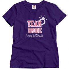 Team Bride Tee