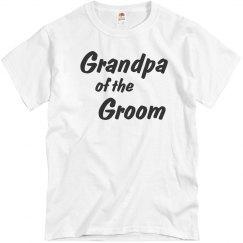 Grandpa of the Groom Men's T-shirt