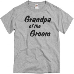 Grandpa of the Groom Men's T-shirt
