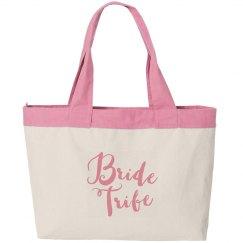 Bride Tribe Canvas Bag