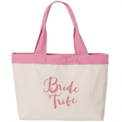 Bride Tribe Canvas Bag