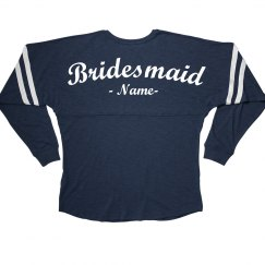 Custom Bridesmaid Name