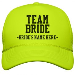 Custom Team Bride Yellow