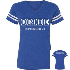 Bride Team Jersey