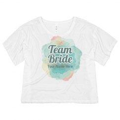 Water Color Team Bride