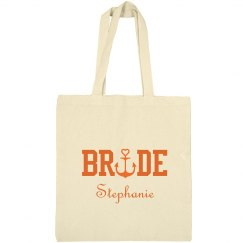 Nautical Bride Tote Bag