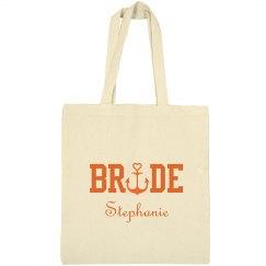 Nautical Bride Tote Bag